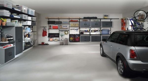 Podlahové topení - Garáže