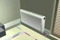 Kombinace podlahy s radiátory