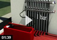 Podlahové topení - tlaková zkouška